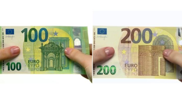 Los nuevos billetes de 100 y 200 euros entrarán en circulación el 28 de mayo 2019