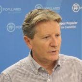 El portavoz adjunto del Partido Popular en el Ayuntamiento de Castellón, Juan José Pérez Macián.