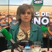 La ministra de Sanidad, María Luisa Carcedo, en los estudios de Onda Cero