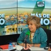 La ministra de Sanidad, María Luisa Carcedo, en Más de uno, con Carlos Alsina