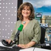Elena Gijón, presentadora y directora de Noticias Mediodía