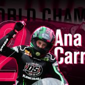 Ana Carrasco, campeona de Supersport 300