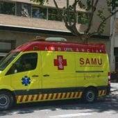 Ambulancias del Servicio de Atención Médica Urgente (SAMU)