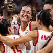 Laia Palau, capitana de la selección española.
