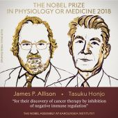 James P Allison y Tasuku Honjo