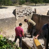 Exhumación de una fosa en Mallorca