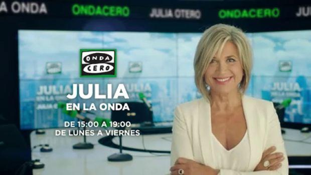 Julia Otero agradece el Premio Ondas 2018 al El Gabinete de Julia en la onda