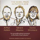 Ashkin, Mourou y Strickland ganan el Premio Nobel de Física