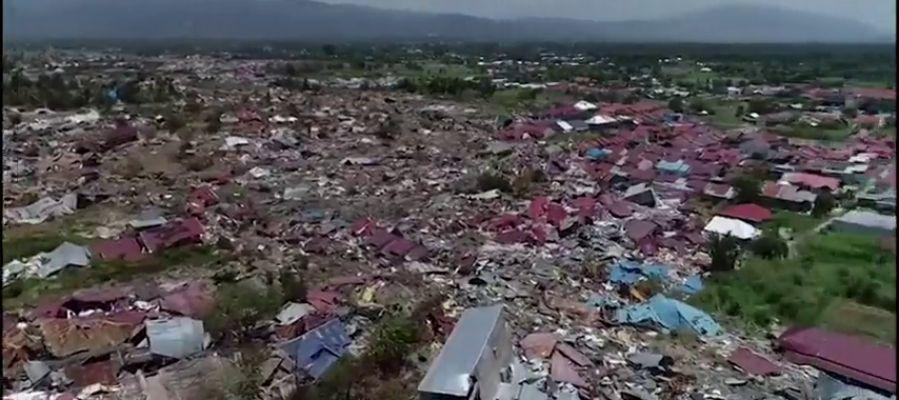 Las consecuencias tras cuatro días del terremoto y tsunami de Indonesia