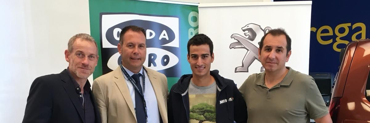 Mario Mola en Peugeot PSA Retail Palma.