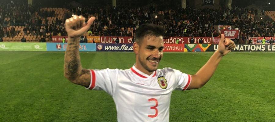 La selección de Gibraltar celebra una victoria