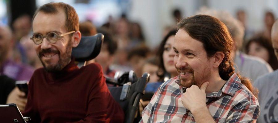 Pablo Iglesias en el debate de la universidad de otoño de Podemos