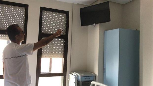 Imagen de archivo de la habitación de un hospital