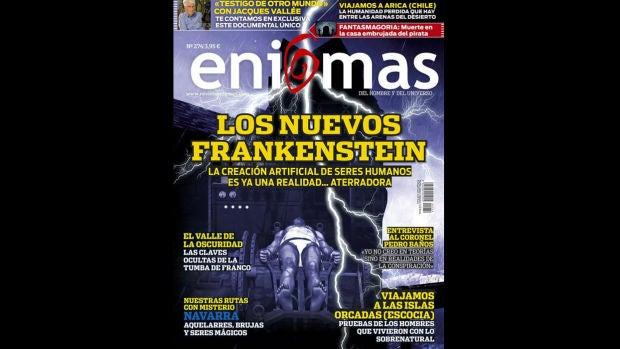 Revista Enigmas: El pueblo maldito