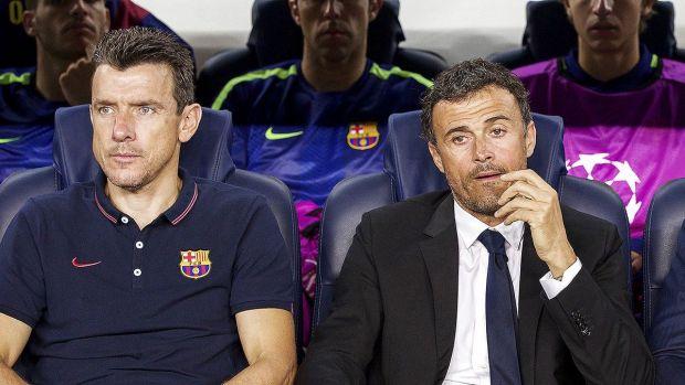 """Unzué: """"Cada uno somos responsables de nuestras declaraciones, pero Luis Enrique no tiene ningún problema con Jordi Alba"""""""