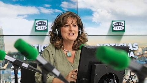 Elena Gijón, presentadora de Noticias Mediodía