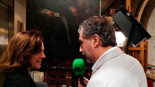 Pasea con Carlos Alsina por el Museo del Prado