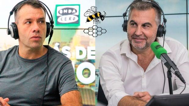 La España que madruga: Carlos Alsina reta a Rubén Amón a meter los pies en un avispero
