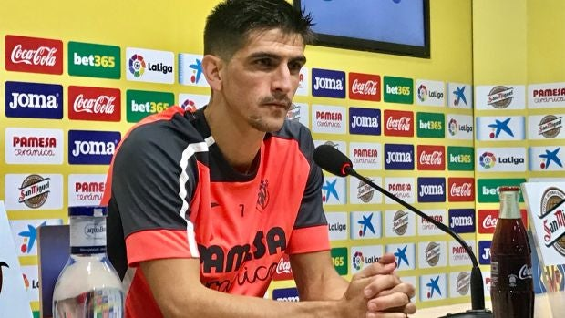 Gerard Moreno, delantero del Villarreal CF