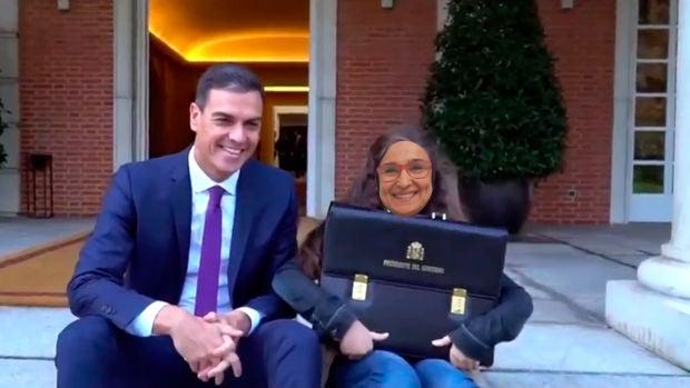 """Irene, la niña que fue presidenta por un día: """"Sánchez me dejó sola mientras se iba a pasarle la ITV al falcon"""""""