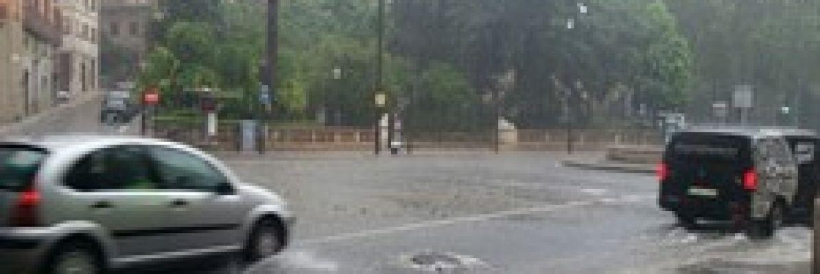 LLueve sobre mojado en Mallorca.