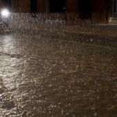 Imagen de las lluvias caídas