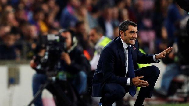 """Valverde: """"Se va a notar la baja de Messi"""""""