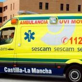 Foto de archivo de una ambulancia del SESCAM