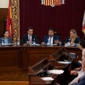 El presidente de la Diputación, Javier Moliner. Imagen de archivo.