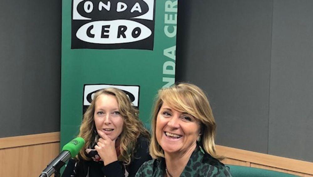 La eurodiputada Rosa Estarás en Onda Cero Mallorca con Elka Duimitrova