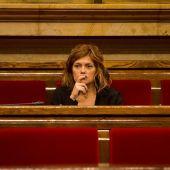 Elisenda Alamany en el Parlament