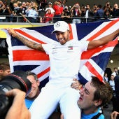 Lewis Hamilton, pentacampeón del mundo de Fórmula 1