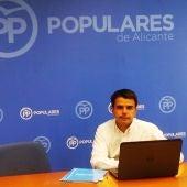 Rafael Candela, coordinador general del PP en la provincia de Alicante