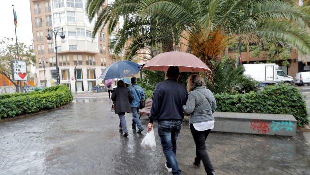 La semana comienza con lluvias en la mitad norte peninsular