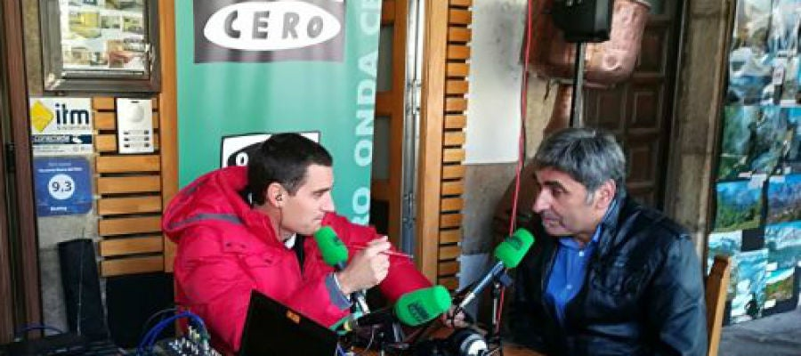 Javier Barbero entrevista a Ángel Moreno