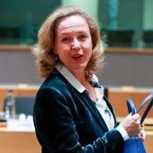 La ministra española de Economía, Nadia Calviño
