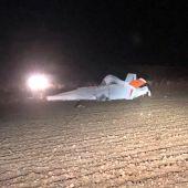accidente avioneta Cervera del Llano