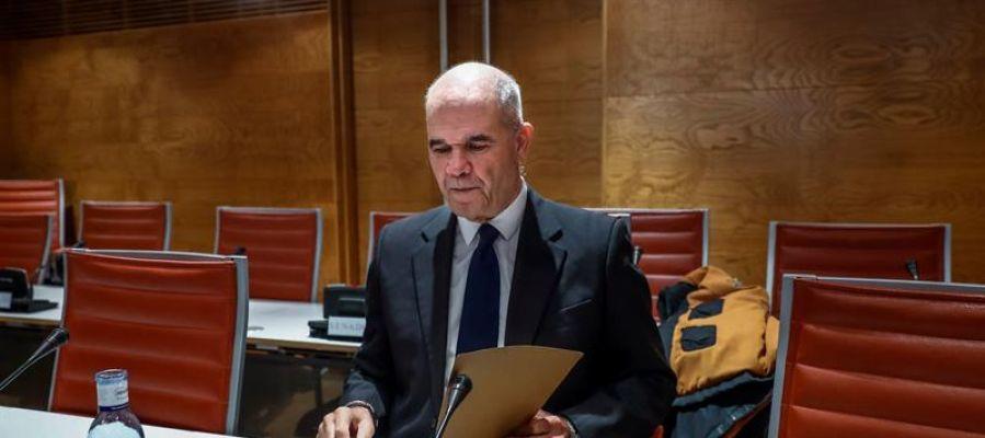Manuel Chaves en el Senado