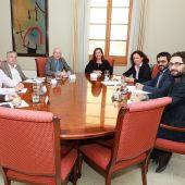 Francina Armengol reunida con sindicatos y patronales
