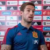 El jugador de la Selección Española, Íñigo Martínez
