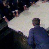 Imagen de archivo del entierro de Franco