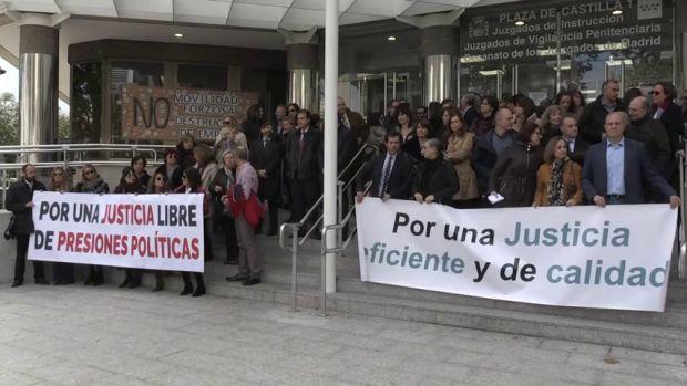 El Gabinete: La huelga de jueces y fiscales