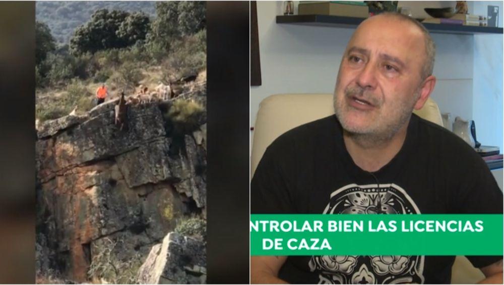 Carlos Rodríguez analiza el vídeo de los perros despeñándose