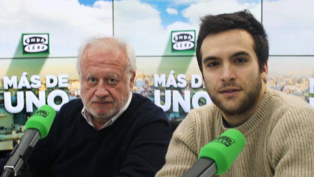 """Ricardo Gómez, a Juan Echanove: """"No tengo tiempo para decirte todo lo que me has enseñado desde los 7 años"""""""
