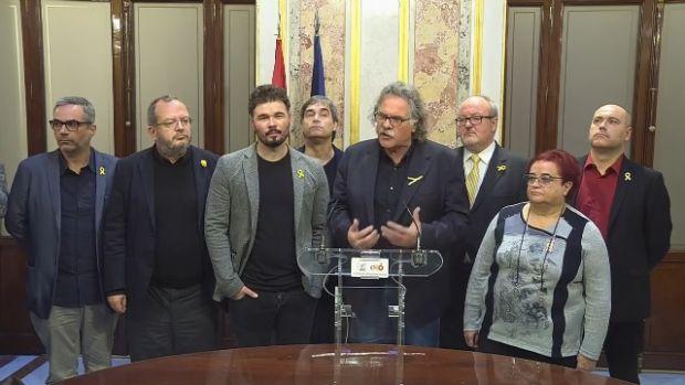 """Tardá niega que un diputado de ERC haya escupido a Borrell: """"Es falso y él lo sabe"""""""