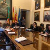 Comisión de Gobierno Abierto y Participativo celebrada hoy en el Ayuntamiento de Castellón.