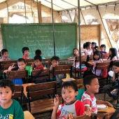 Niños en Filipinas