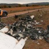 Hallan una avioneta calcinada sin constancia de víctimas en Teruel