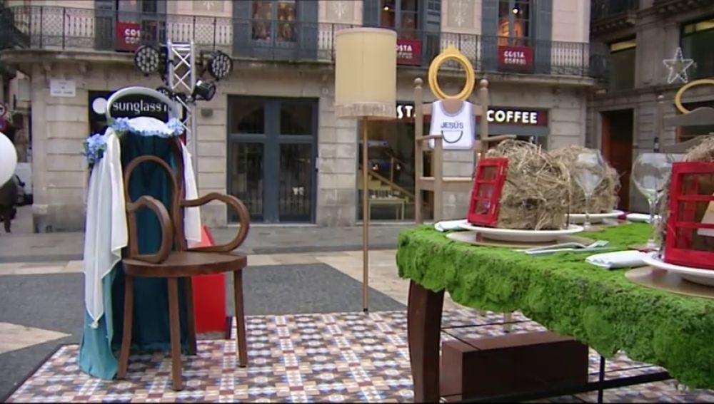 REEMPLAZO Nueva polémica en Barcelona por el belén de Ada Colau