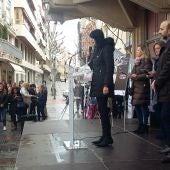 La Plaza Mayor de C.Real ha acogido el acto institucional contra la violencia de género